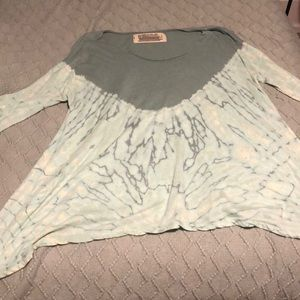 Free people tie dye top